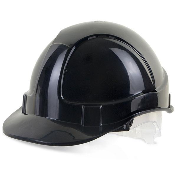 Economy Black Safety Helmet