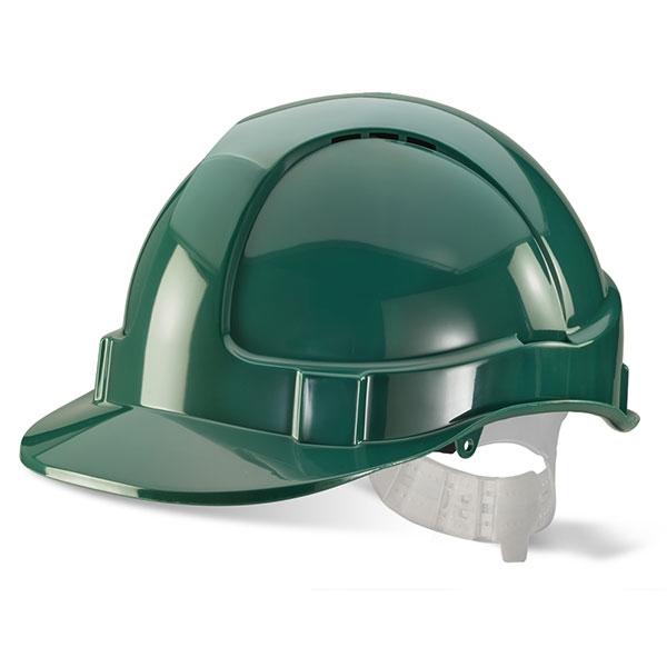 Economy Green Safety Helmet