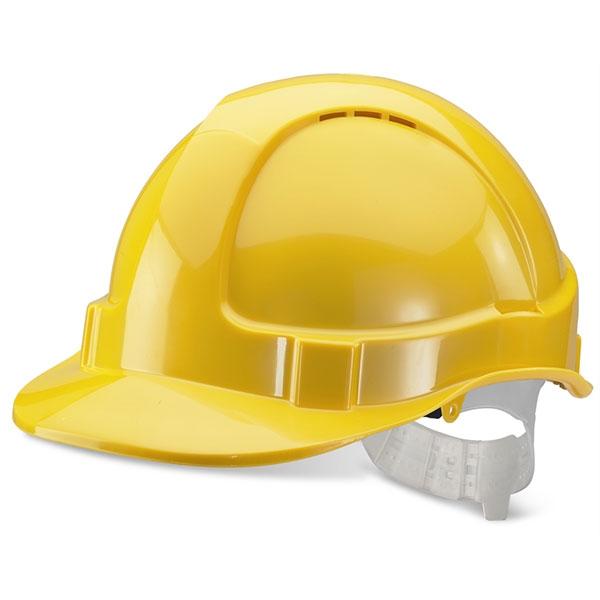 Economy Safety Helmet Yellow