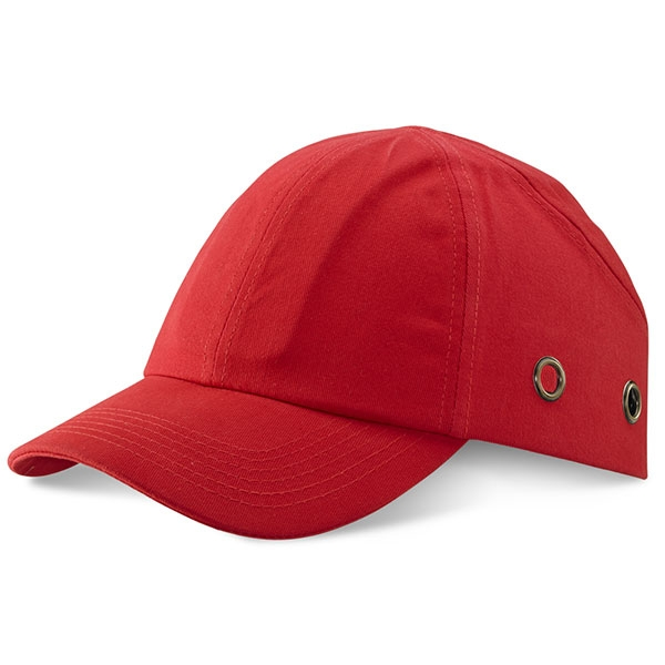 Red Safety Baseball Cap