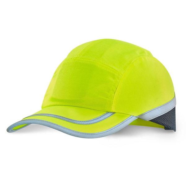Yellow Safety Baseball Cap