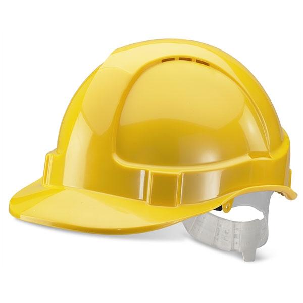 BBVSH yellow helmet