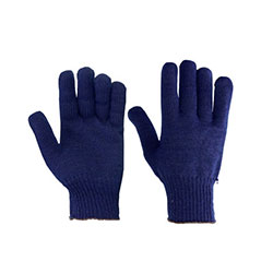 Cotton and Knitted Gloves