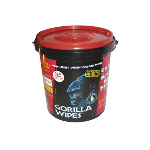 Gorilla Wipes - Industrial Antibacterial Cleaning Wipes