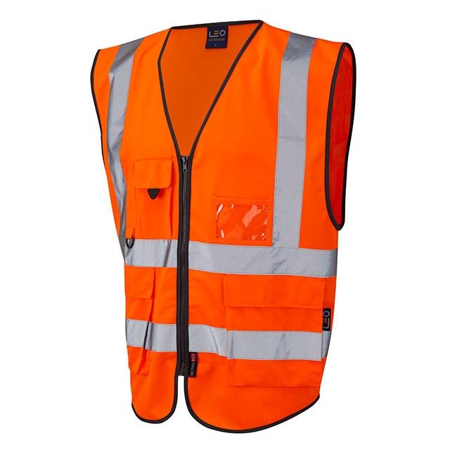 Orange hi-vis Lynton